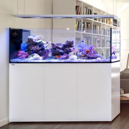 White Reefer 173 Gallon Complete System Peninsula P650 Red Sea