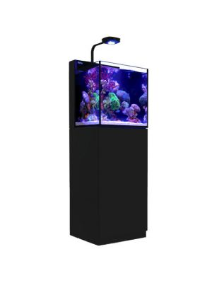Max Nano 20 Gallon BLACK (Tank & Stand) w/AI Prime LED Complete Reef System - Red Sea