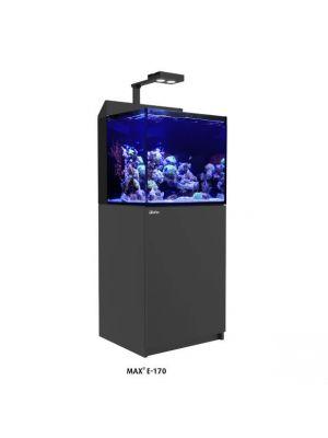 Max E 170 - 43 Gallon Black Complete Reef System - Red Sea