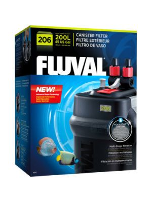 206 Canister Filter up to (45 US Gal) - Fluval