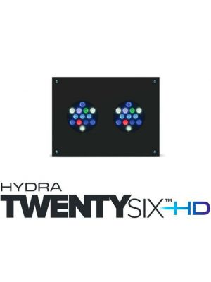 AI Hydra TwentySix +HD Aquarium LED, Black or White - AquaIllumination