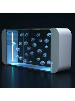 Cubic Pulse 160 WHITE Generation 2 Jelly Fish Aquarium - Cubic Aquarium Systems