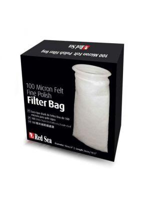 100 Micron Felt Fine Polish Filter Bag - Red Sea