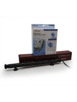 800 Watt Titanium Heater w/Digital Controller (140-265 Gallon) - Finnex