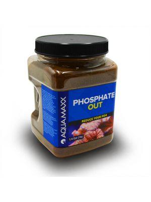 Phosphate Out Granular Ferric Oxide Filter Media GFO (1/4 Gallon - 1 lb) - AquaMaxx