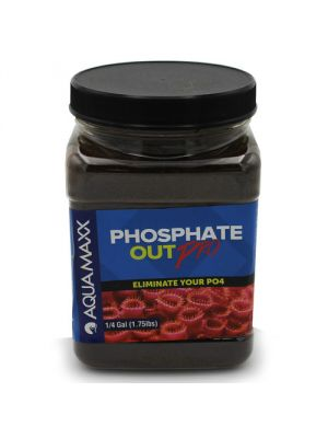 Phosphate Out High Capacity Granular Ferric Oxide Filter Media GFO (1/4 Gallon - 1.75 lb) - AquaMaxx