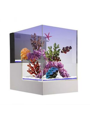 Nuvo Concept Peninsula 20 Gallon Drop Off Aquarium - Innovative Marine