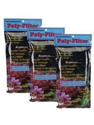 Poly Filter Floss Pad (Three Pack) - Bio Marine 4 X 8
