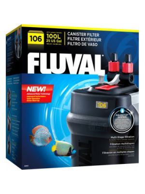 106 Canister Filter up to (25 US Gal) - Fluval