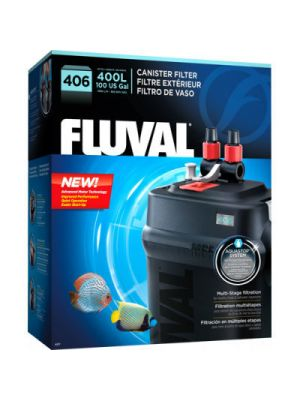 406 Canister Filter up to (100 US Gal) - Fluval