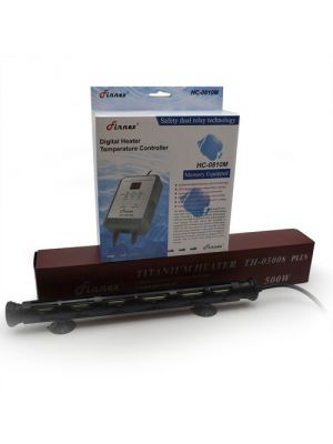 500 Watt Titanium Heater w/Digital Controller (70-130 Gallon) - Finnex