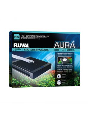 Aura High Output Freshwater Nano LED 7500K Light - Fluval