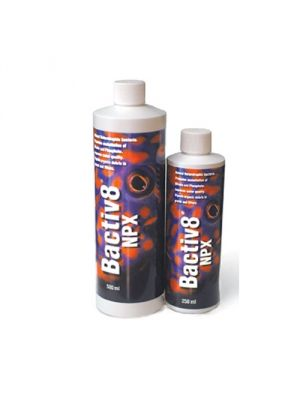 Bactiv8 Heterotrophic Bacteria for Nitrate and Phosphate Reduction (250 ml / 8 oz) - Two Little Fishies